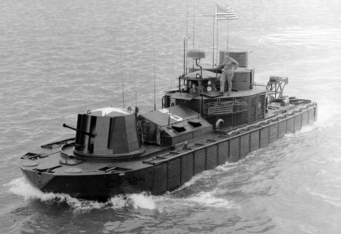 pacv气垫巡逻艇