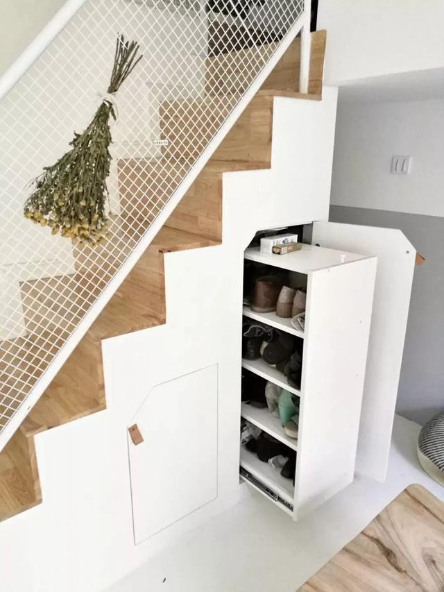 楼梯下方的收纳设计,有楼梯的户型,别浪费这个空间