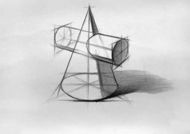 素描学习素描基础几何体太难?上调子不会?请看这里