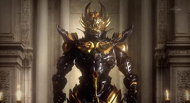 garo(tv第一季)→白夜的魔兽(外传)→红色镇魂曲(剧场)→暗黑骑士铠传