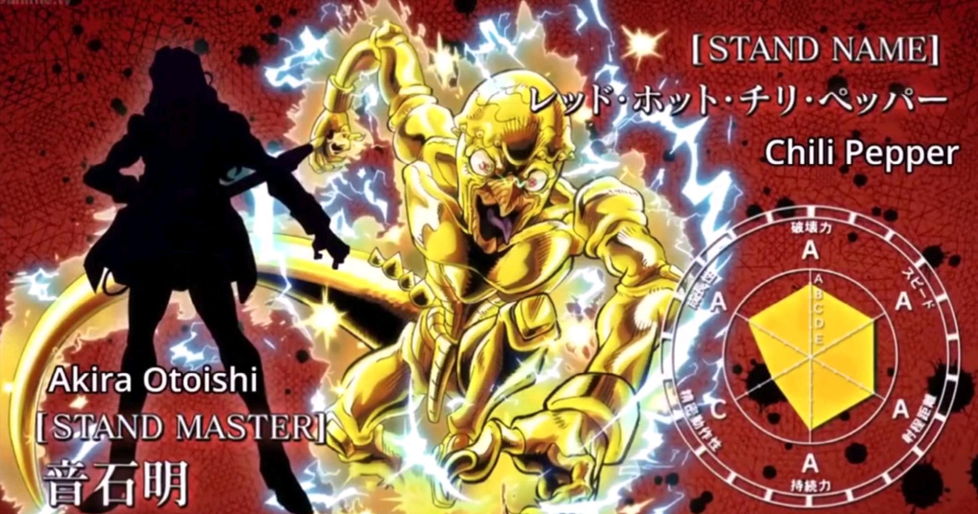 【jojo】盘点动画目前[面板]最强的5大替身!jo太郎竟然不是第一!