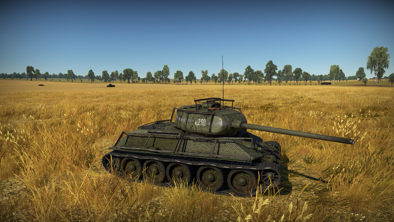 �~t_功勋战车——t-34-85e中型坦克