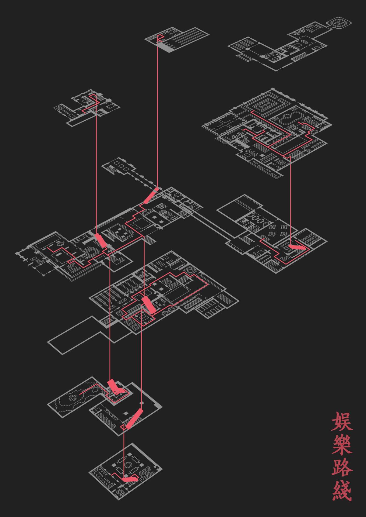 【我的别墅现代建筑群】海岛度假世界--源梦岛平别墅60设计图片