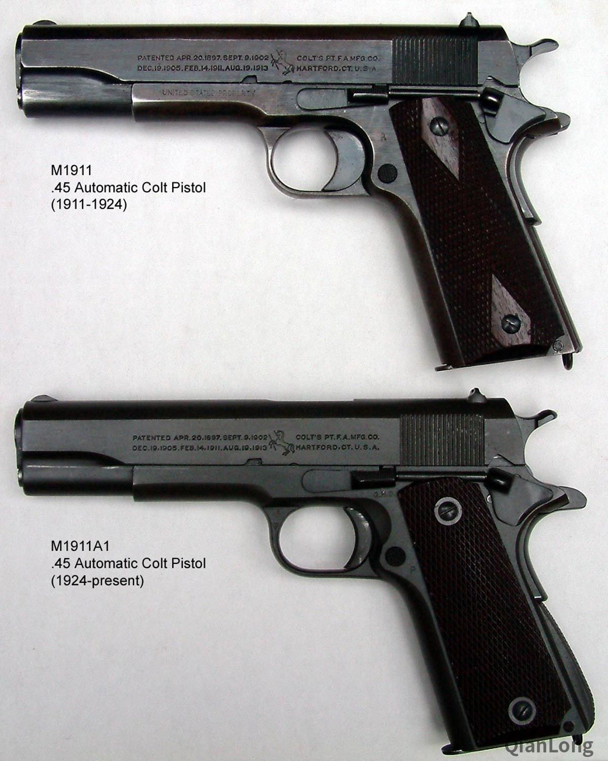 想问M1911A1 枪身右侧的拨杆是什么作用如图 红圈里的 类似保险机...