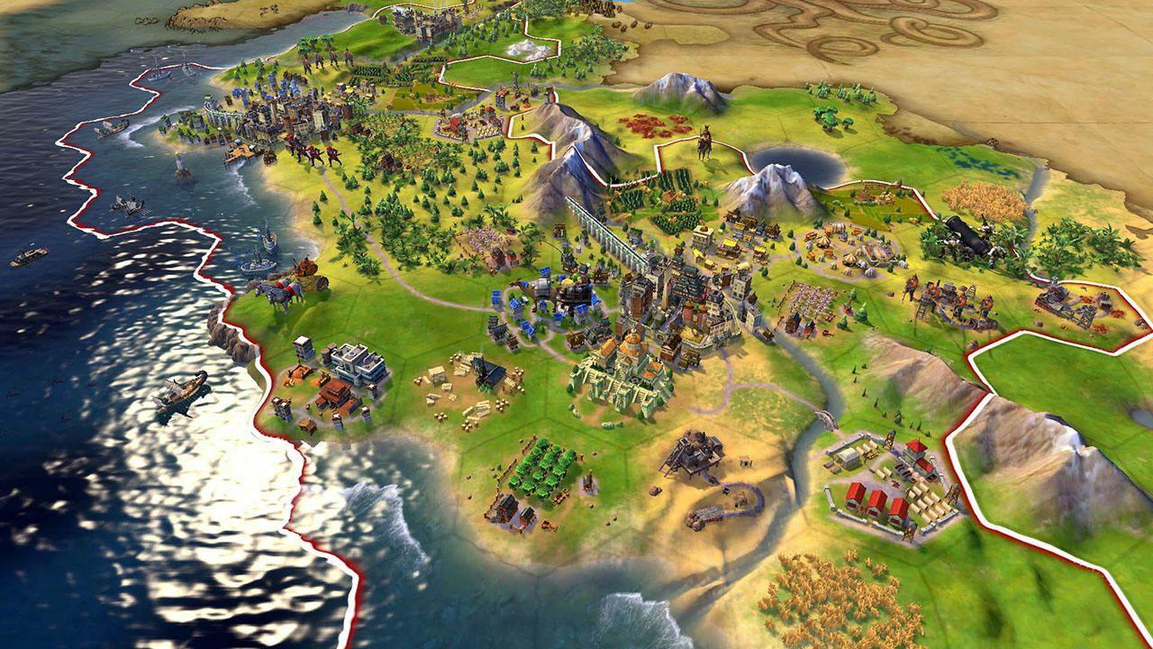 提供了多种新方式让您与世界互动,在地图上扩张城市,发展文明,以及图片