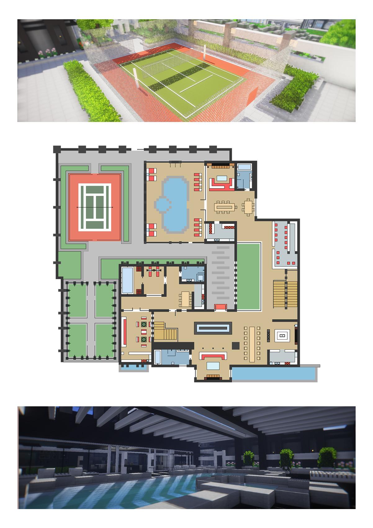 【我的别墅现代建筑群】海岛v别墅世界--源梦岛九里华润别墅图片