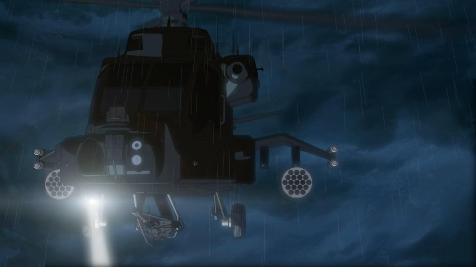 而从《漆黑的追踪者》开始,黑衣组织动用了武装直升机鸟枪换炮对身处