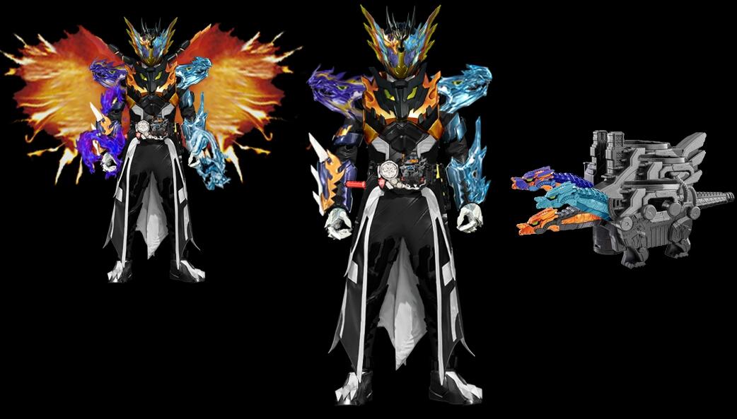 《假面骑士build》原创形态:假面骑士cross-z trinity
