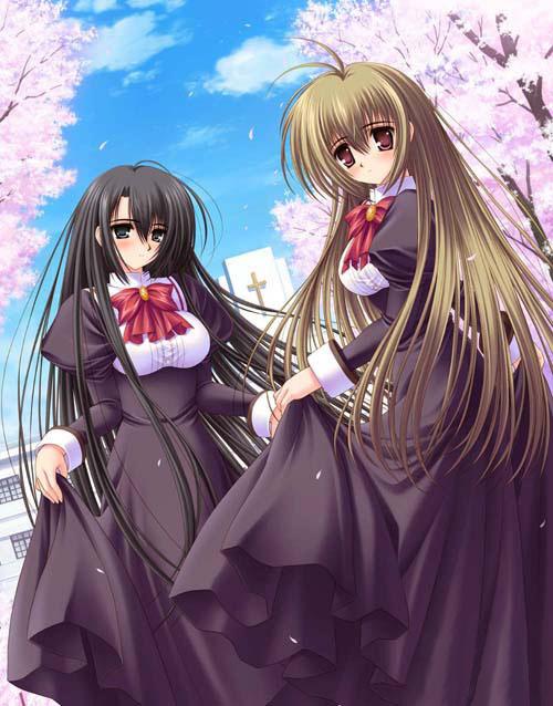 2005年, 「少女爱上姐姐」18xgal诞生,后一年,游戏实现动画化.
