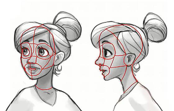 如何快速画出自己的动漫人物,面部绘画技能get!图片