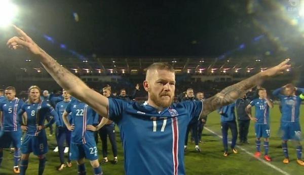 让世人都听到那震耳欲聋的维京战吼-冰岛足球队