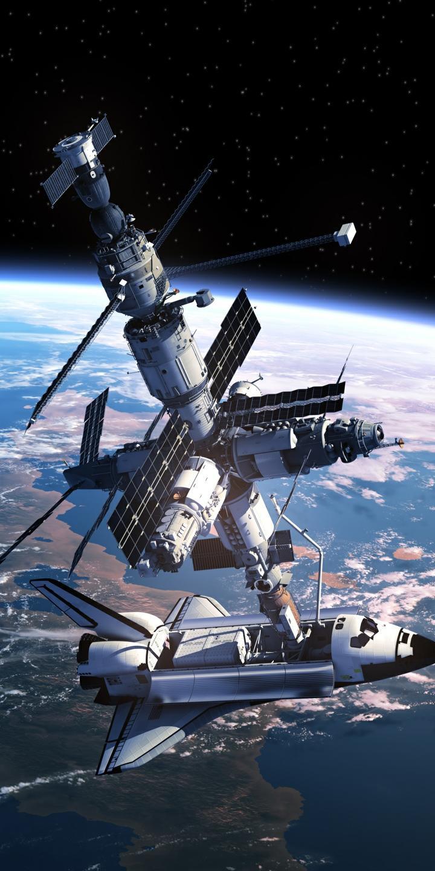 航天飞机与空间站对接