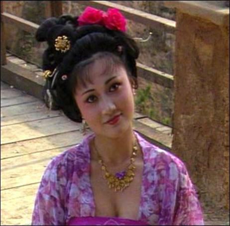 最美杨贵妃,如今已53岁,美丽依旧图片