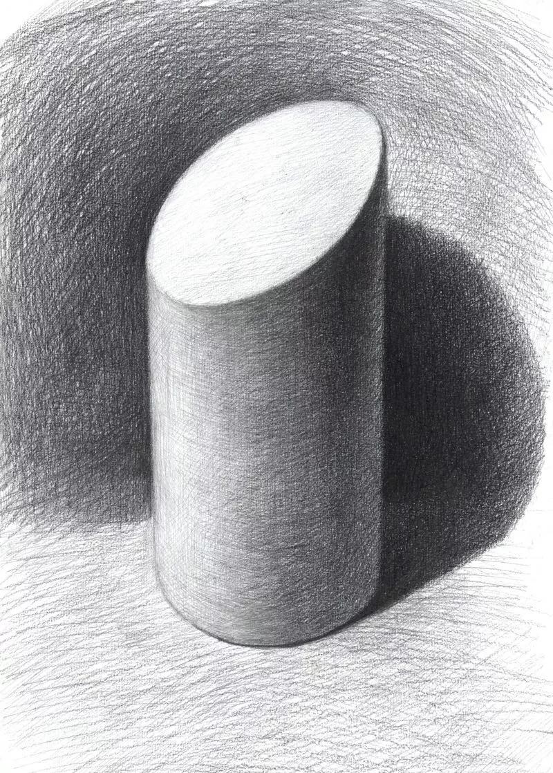 圆形透视,画好切面圆柱体的秘诀所在 | 玩艺课堂图片
