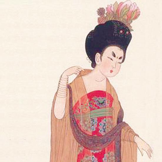 杨贵妃像图片