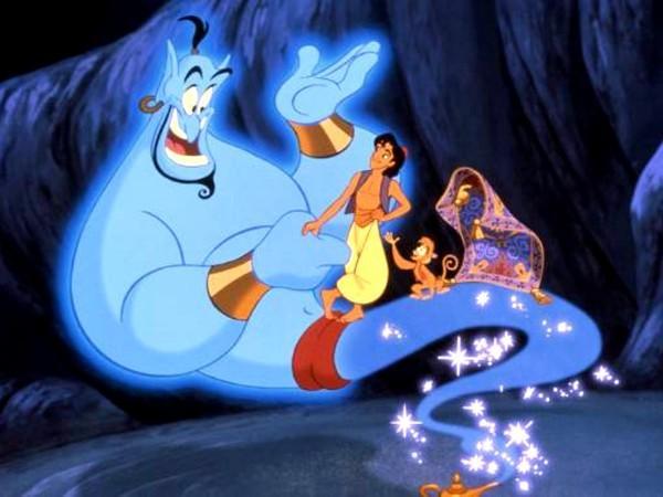 《阿拉丁》真人版威尔史密斯神灯精灵造型曝光!网友:不是蓝的?图片