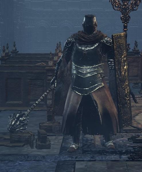 【魂学生渣作】黑魂3花样介绍:骑士-重甲怪物骑士式悠悠球怎么收图片