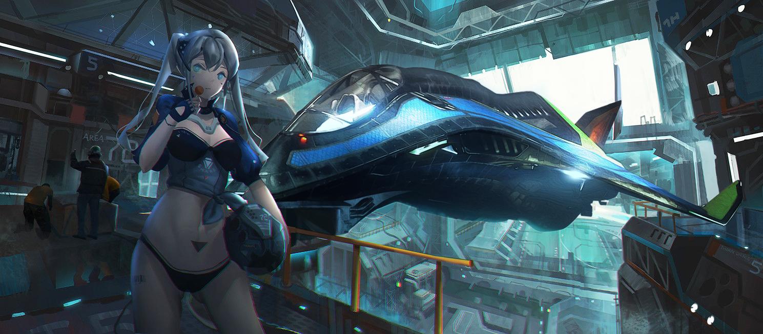 星际公民的飞船与美少女