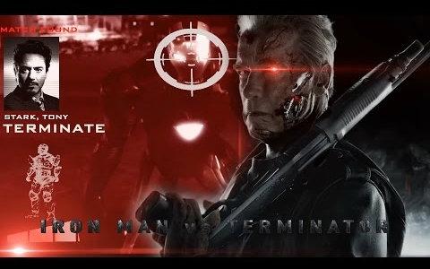 qq超人2.92_【粉丝自制】钢铁侠 大战 终结者 Iron Man vs Terminator --- Alex Luthor ...