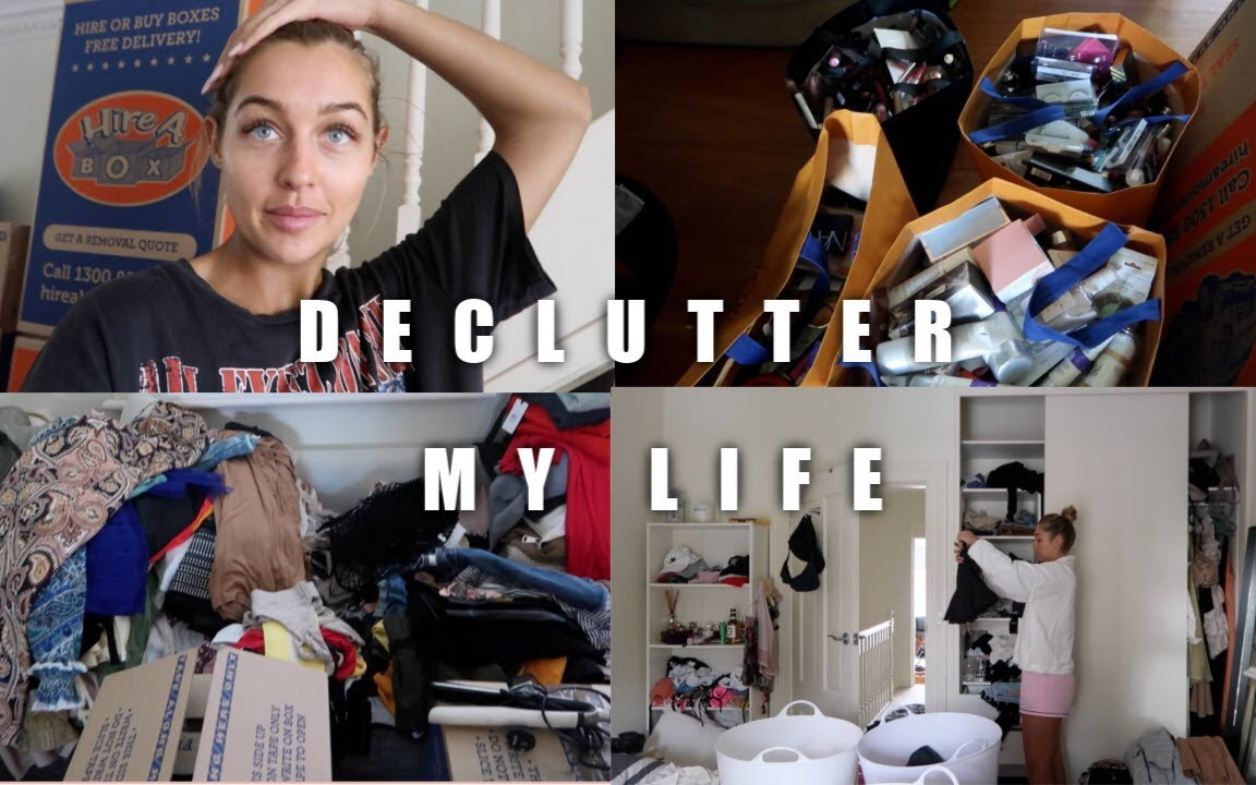 【Sammy Robinson】搬家前的断舍离 日常vlog | DECLUTTERING MY LIFE | Packing for the Move
