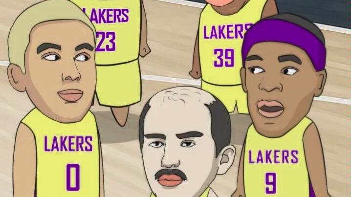 爆笑篮球动漫33之湖人总冠军