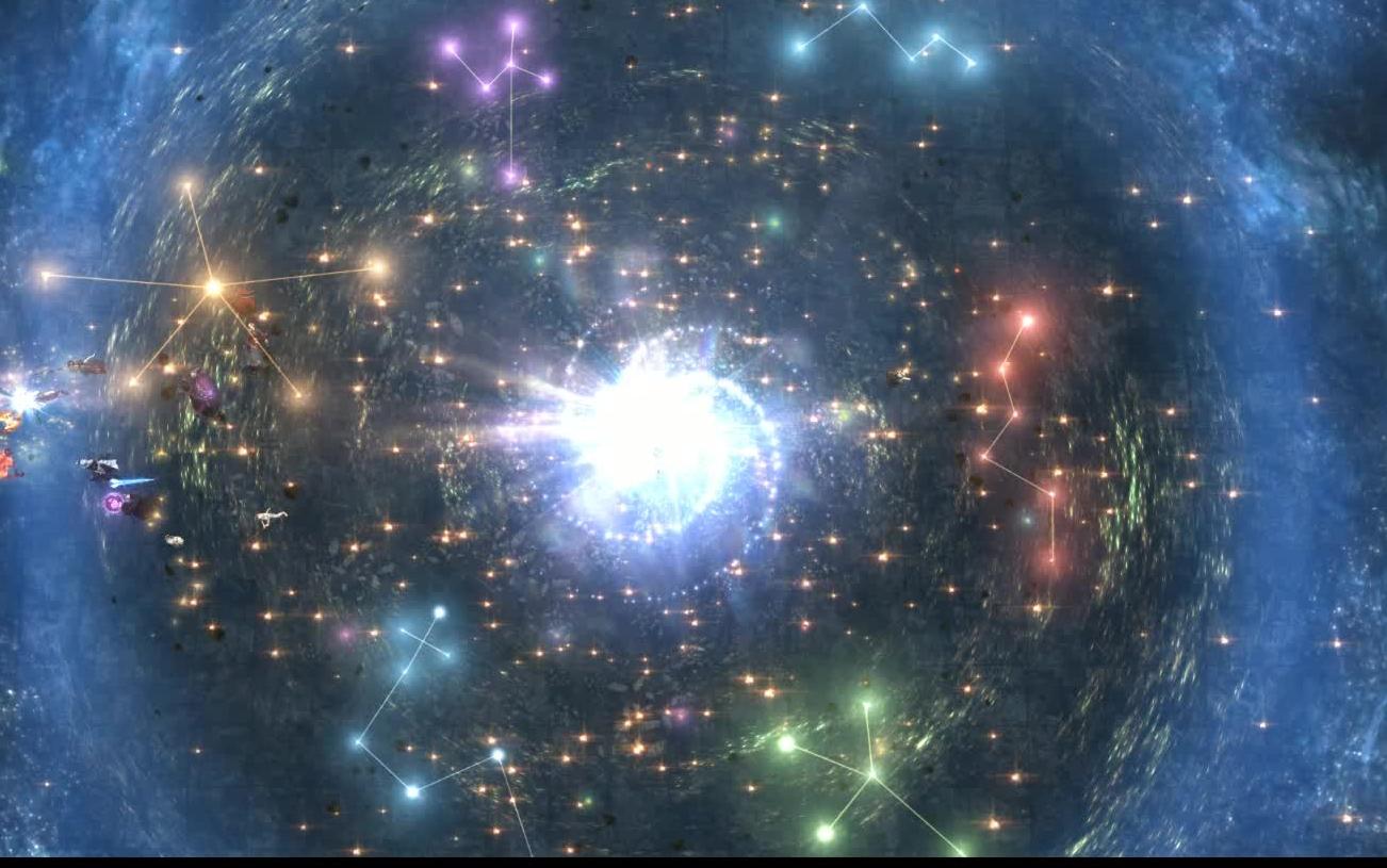 「最终幻想14」赠你一颗如此巨大的星空棒棒糖