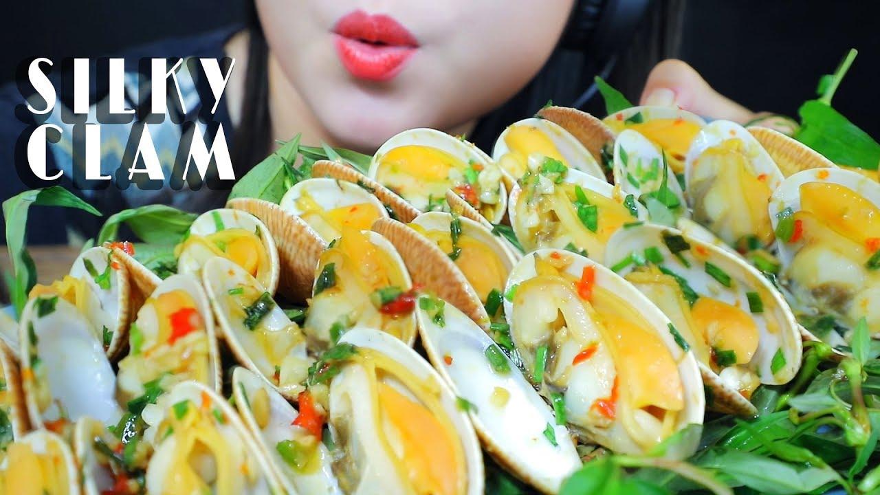 【玲玲小姐姐】煮丝蛤(波状金星蛤)炒葱花-(2019年9月17日19时48分)