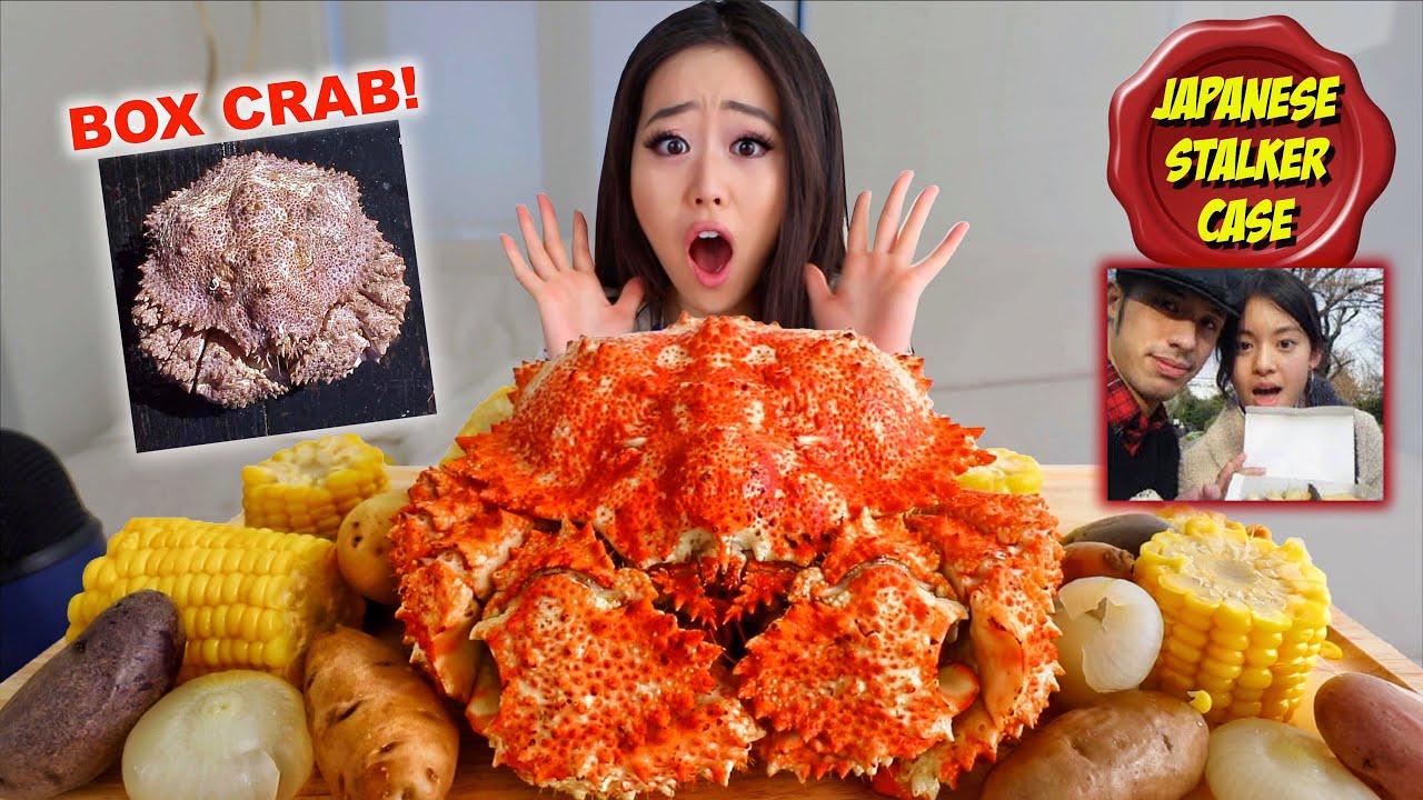 【话唠小姐姐】新型帝王蟹!第一次尝试整盒螃蟹Mukbang美食秀(2019年8月19日8时0分)