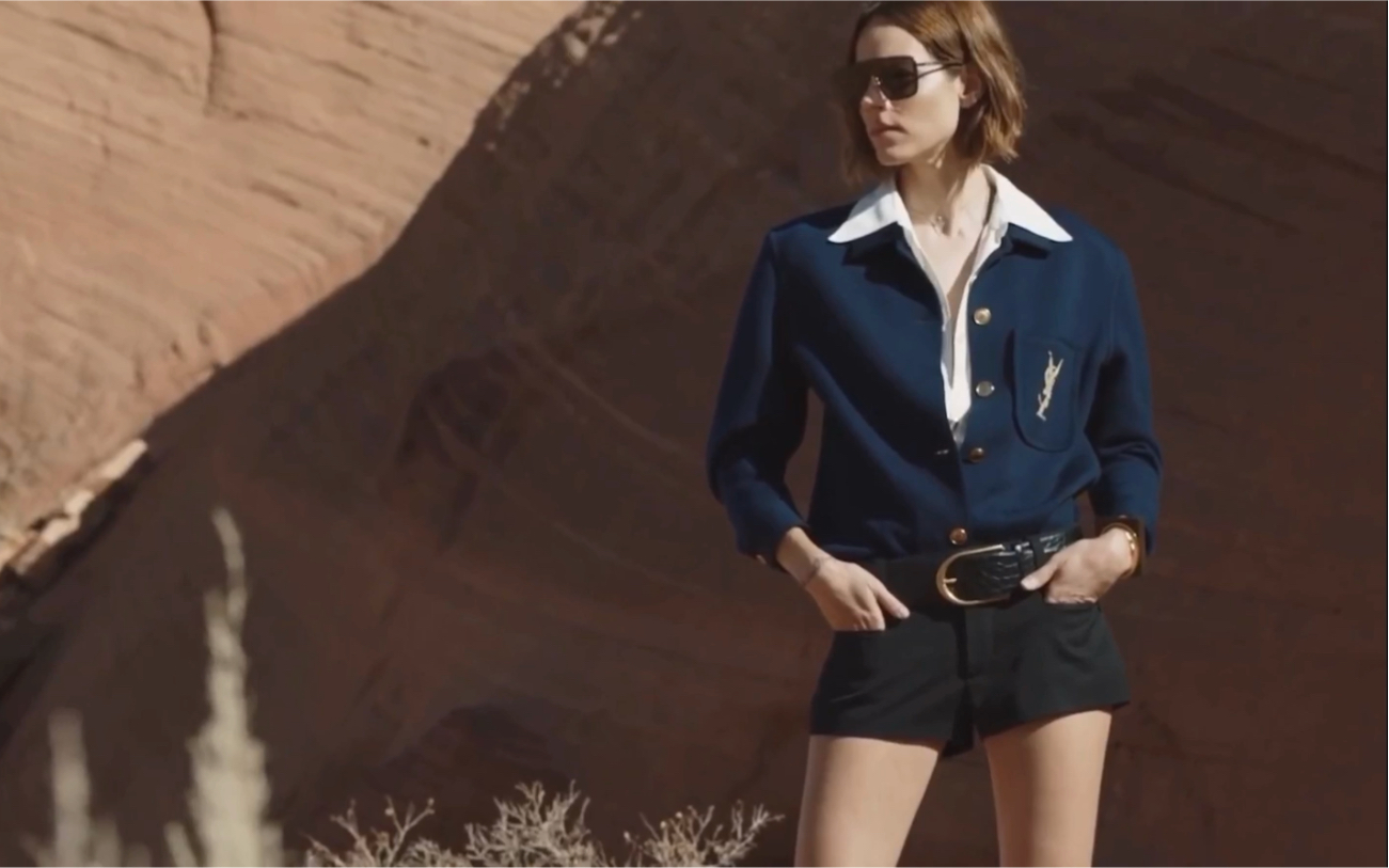 【阿福Freja】Saint Laurent Summer 2020 : Freja Beha by Juergen Teller