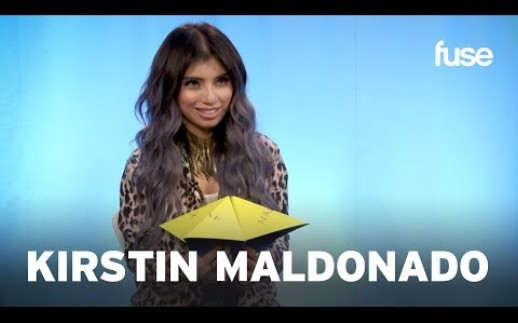 Pentatonix's Kirstin Maldonado Plays With An Origami Fortune Teller | Fuse