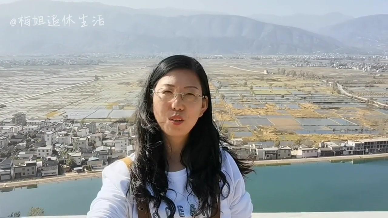 女司机在永胜三川坝又认识了作家,被眼前清新的田园风光所迷倒