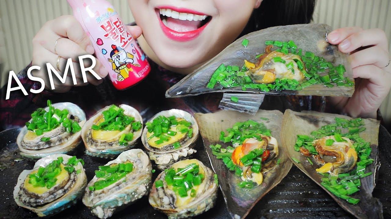 【玲玲小姐姐】助眠烤鲍鱼和扇贝咀嚼声linh-助眠(2019年10月20日19时0分)