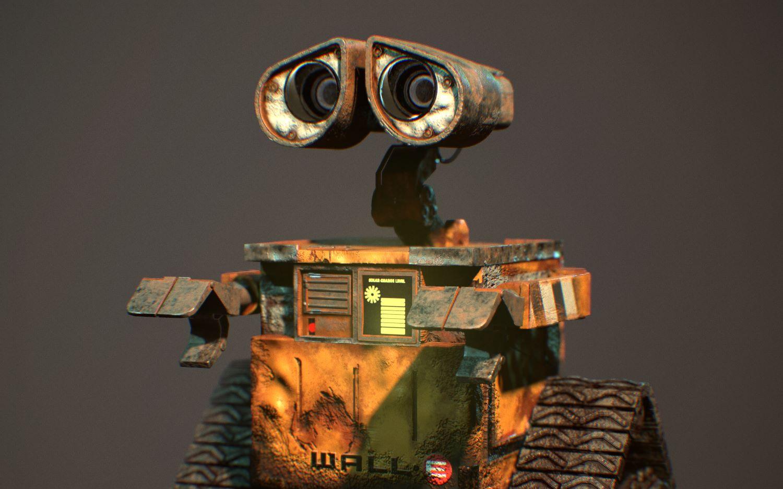 机器人瓦力_[C4D] 机器人总动员 临摹瓦力片段 OC渲染_哔哩哔哩 (゜-゜)つロ 干 ...