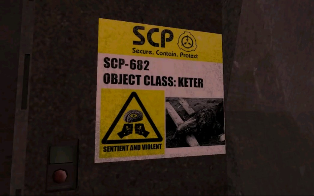 搞笑动画视频短片_[SCP搞笑短片]永远不要打开682大爷的大门_哔哩哔哩 (゜-゜)つロ 干 ...