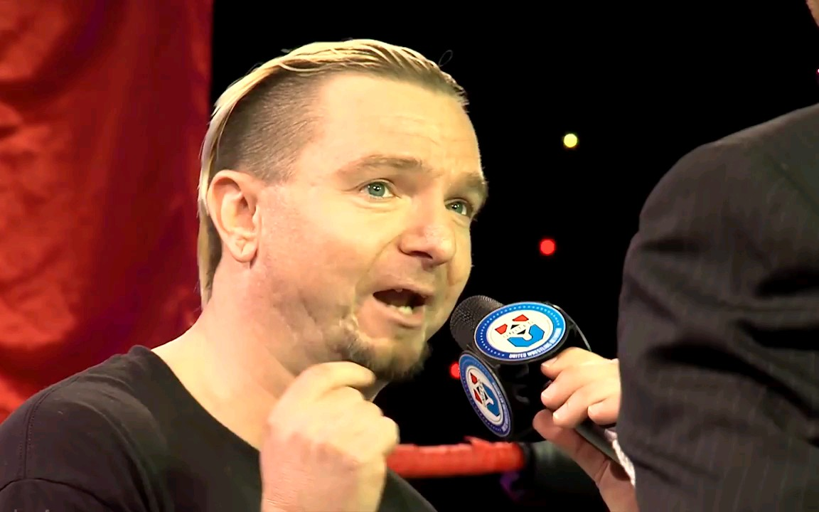 渣E镀金就是牛批 小詹皇挑战NWA世界冠军 JamesEllsworth vs NickAldis单场