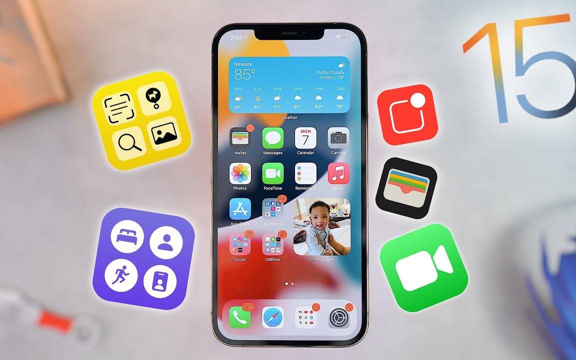 iOS 15上5个最有吸引力的新功能