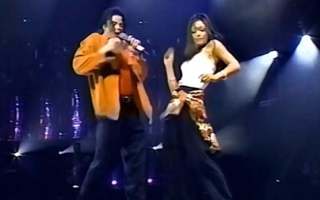 【迈克尔杰克逊】《the way you make me feel》彩排花絮及MJ与小甜甜布兰妮版表演