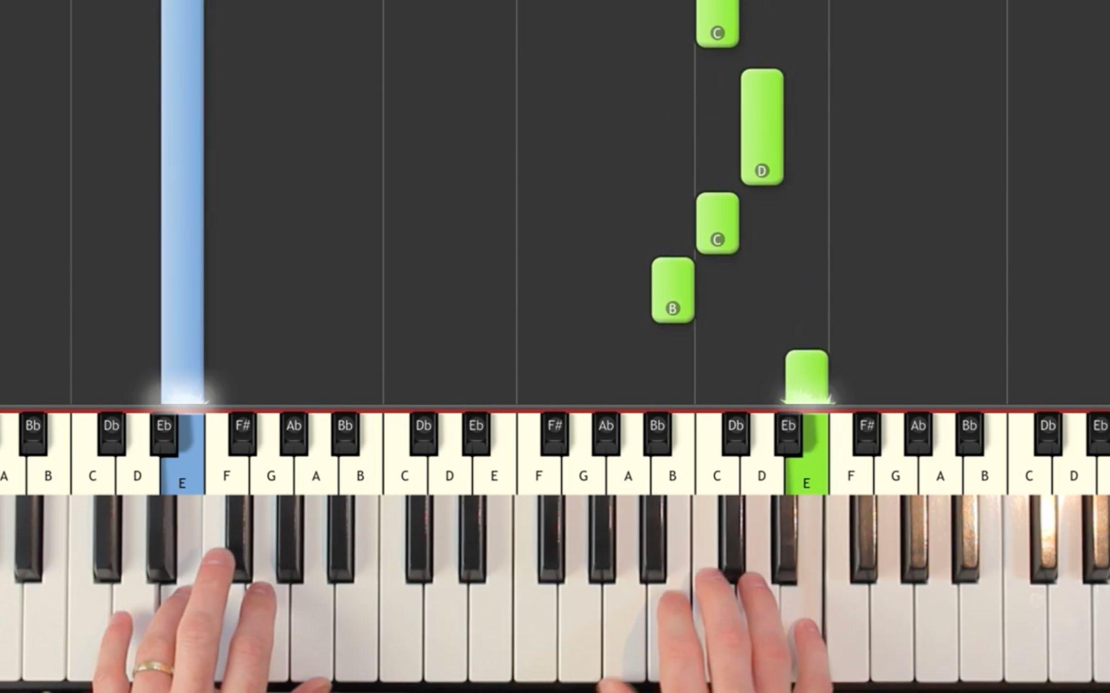【钢琴教学】玩了这么多年的俄罗斯方块BGM居然用钢琴演奏这么好听?