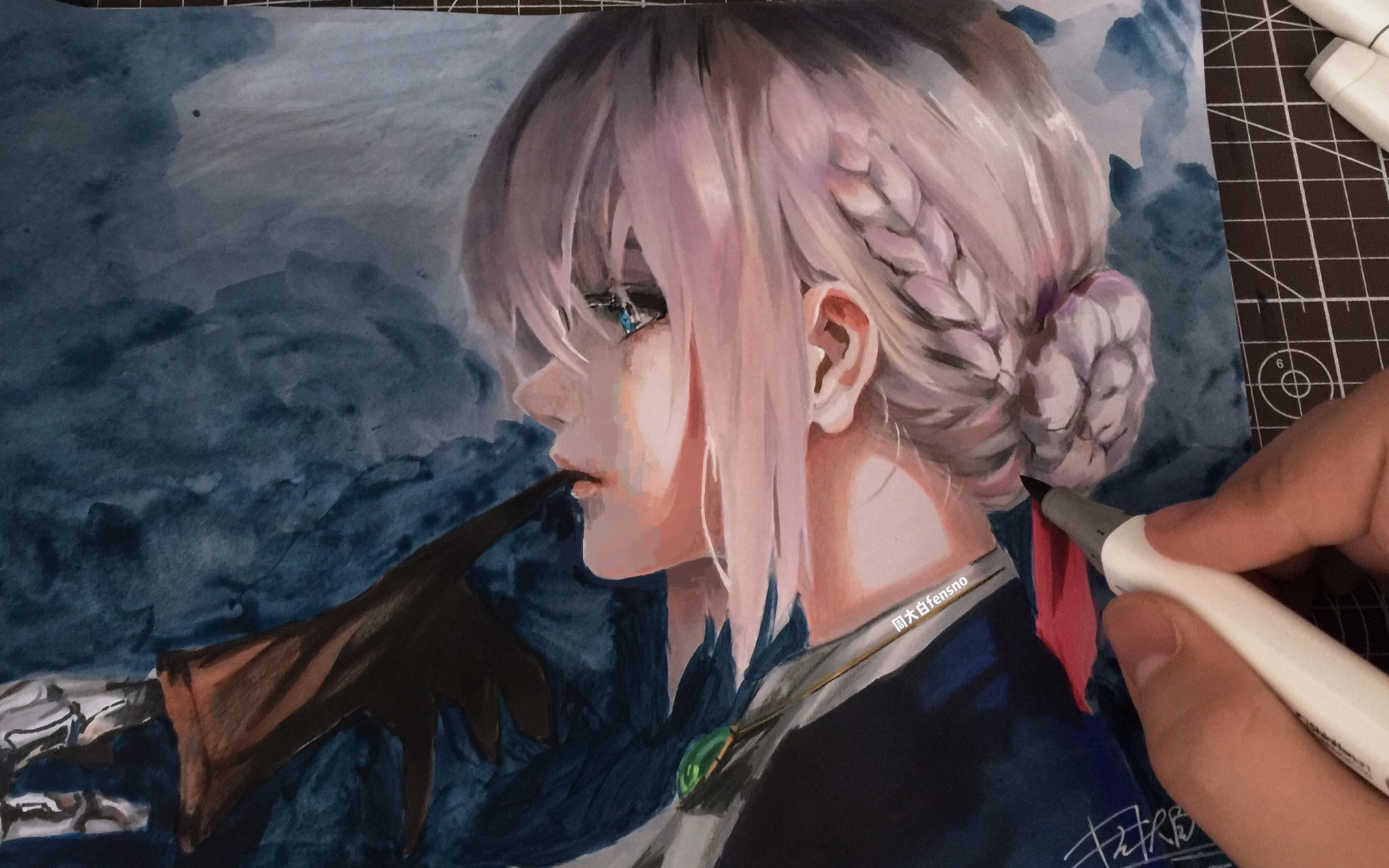 Purple Anime Wallpaper