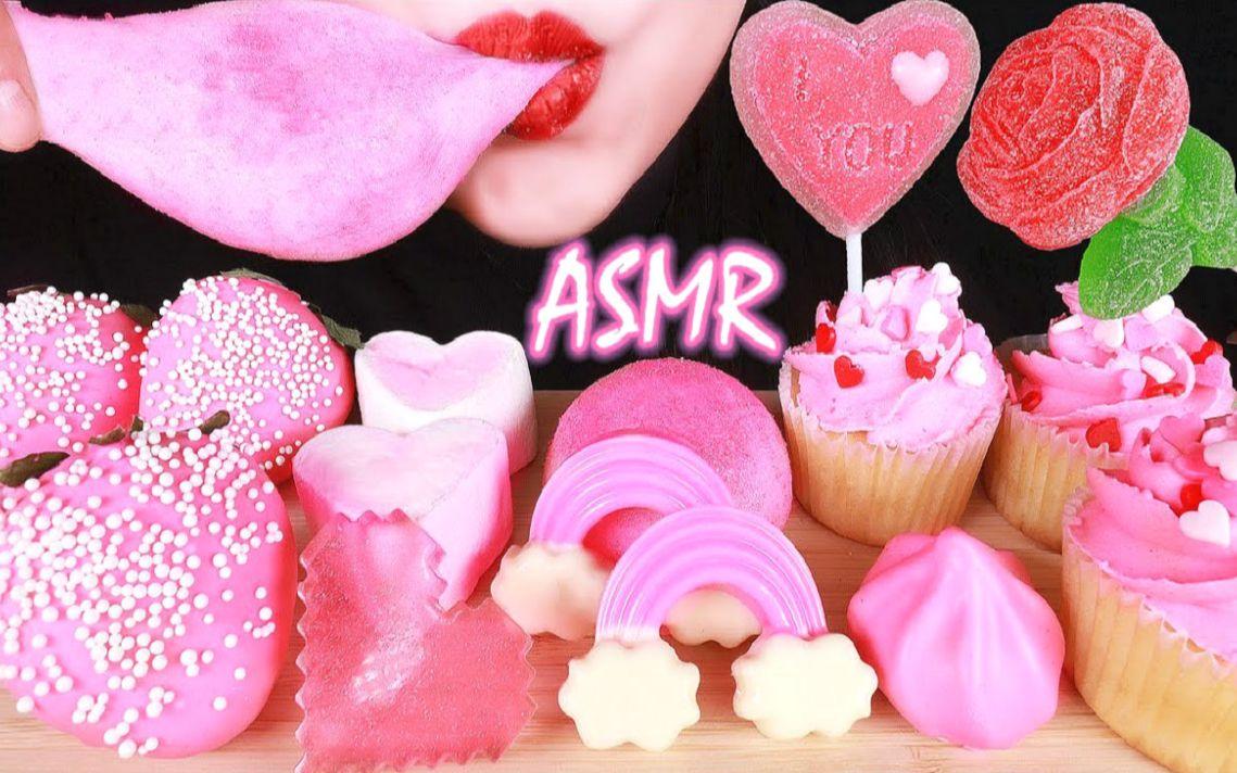 脆皮棉花糖_☆ Abbey ☆ 情人节粉色甜点集合(奶油纸杯蛋糕、巧克力脆皮草莓 ...