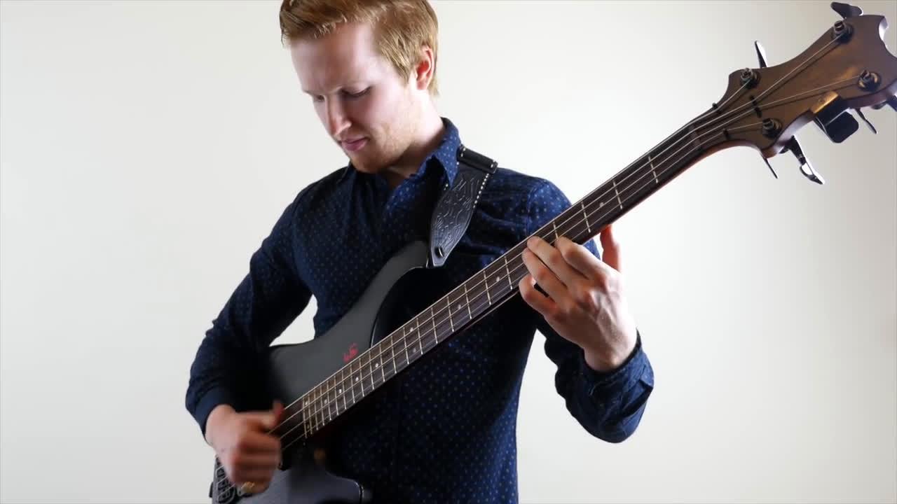 良贝斯_【贝斯】victor wooten classical thump bass cover