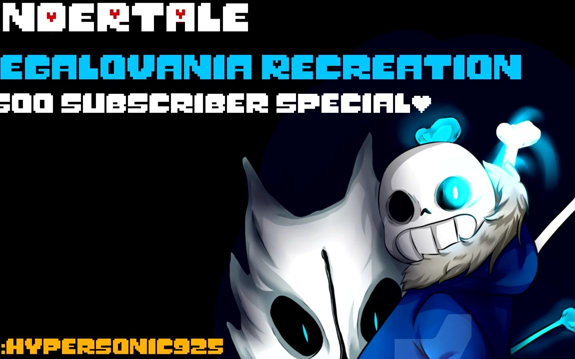 Undertale - Megalovania Recreation (500 Subs Special)
