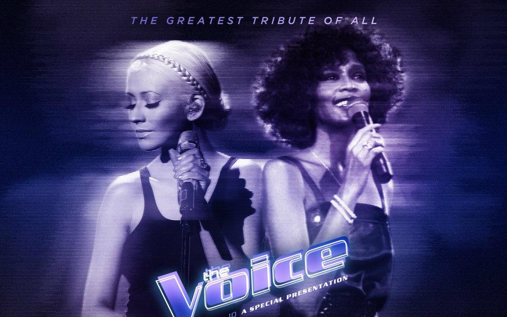 【Christina Aguilera and Whitney Houston】 全息投影隔空对唱