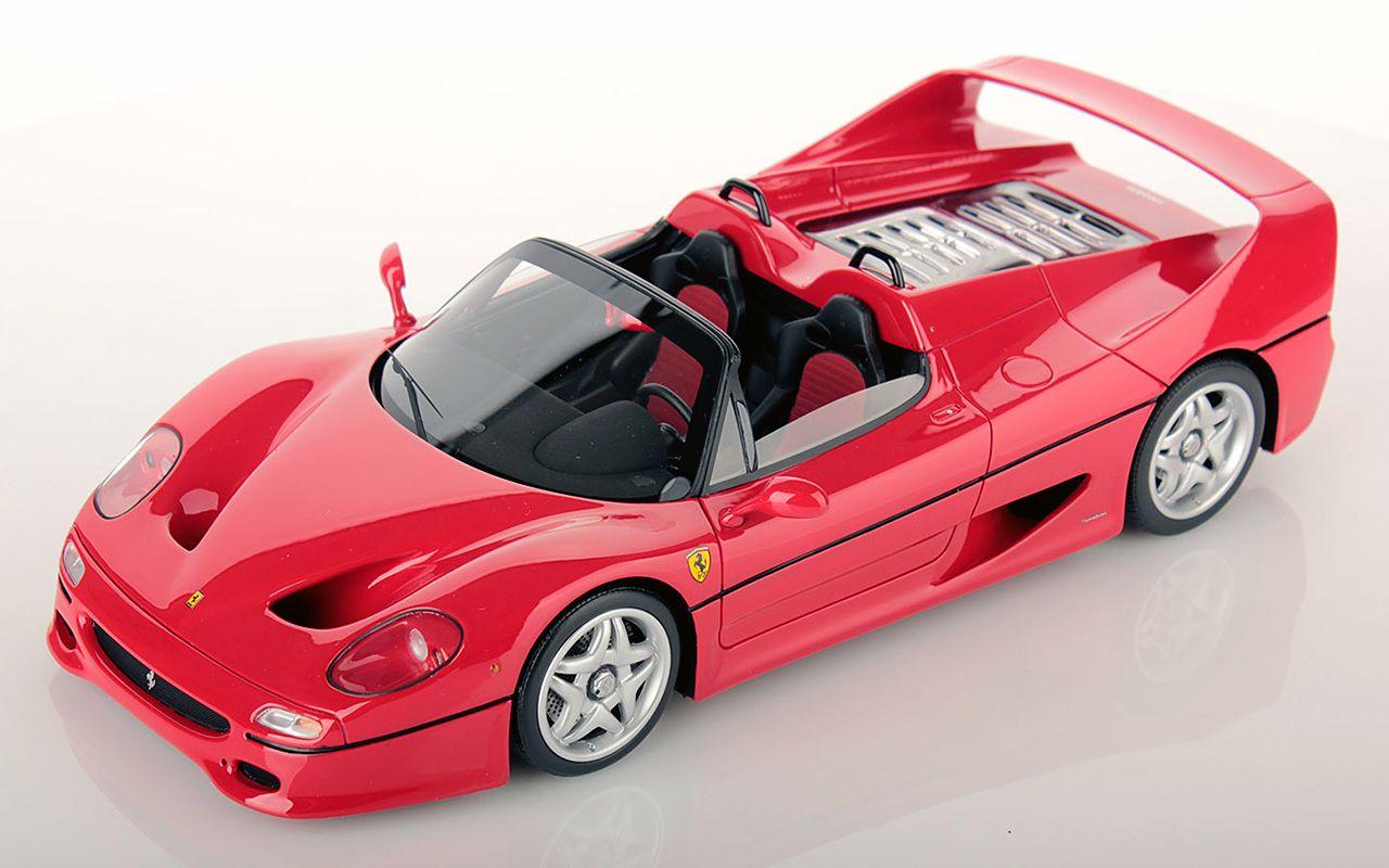 法拉利跑车真车_【汽车模型】Looksmart 1:18 法拉利F50 Spider 与 F50 Coupe_哔哩哔哩 (゜ ...