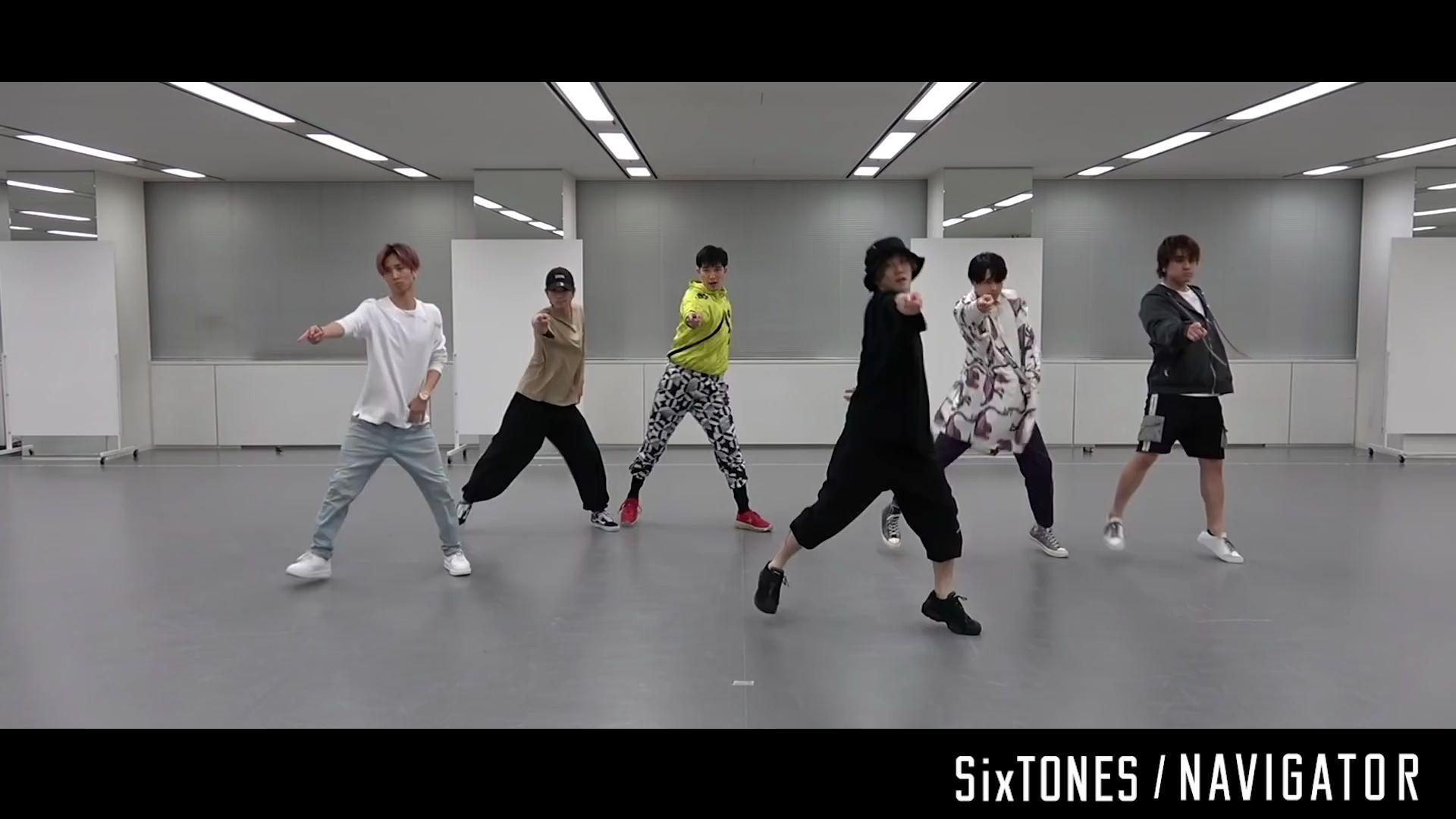 Sixtones Navigator Dance Practice 哔哩哔哩 つロ干杯 Bilibili