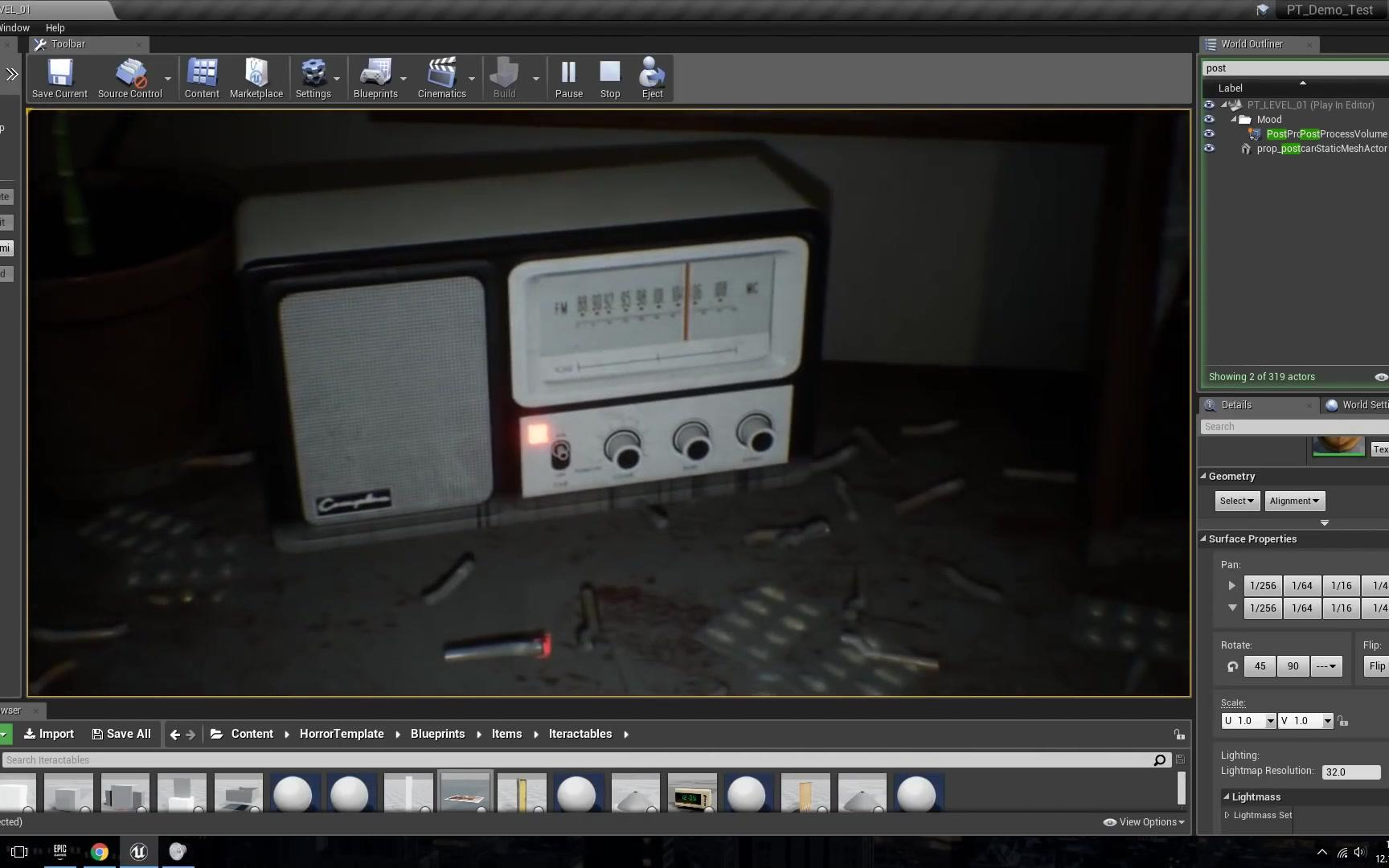 P.T. recreation on Unreal Engine 4  WIP (1)
