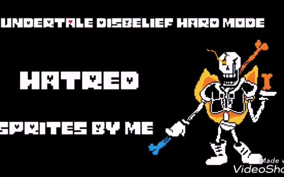DISBELIEF PAPYRUS HARD MODE OST 100 SUBS1 YEAR_哔哩哔哩 (゜-゜)つロ 干杯~-bilibili