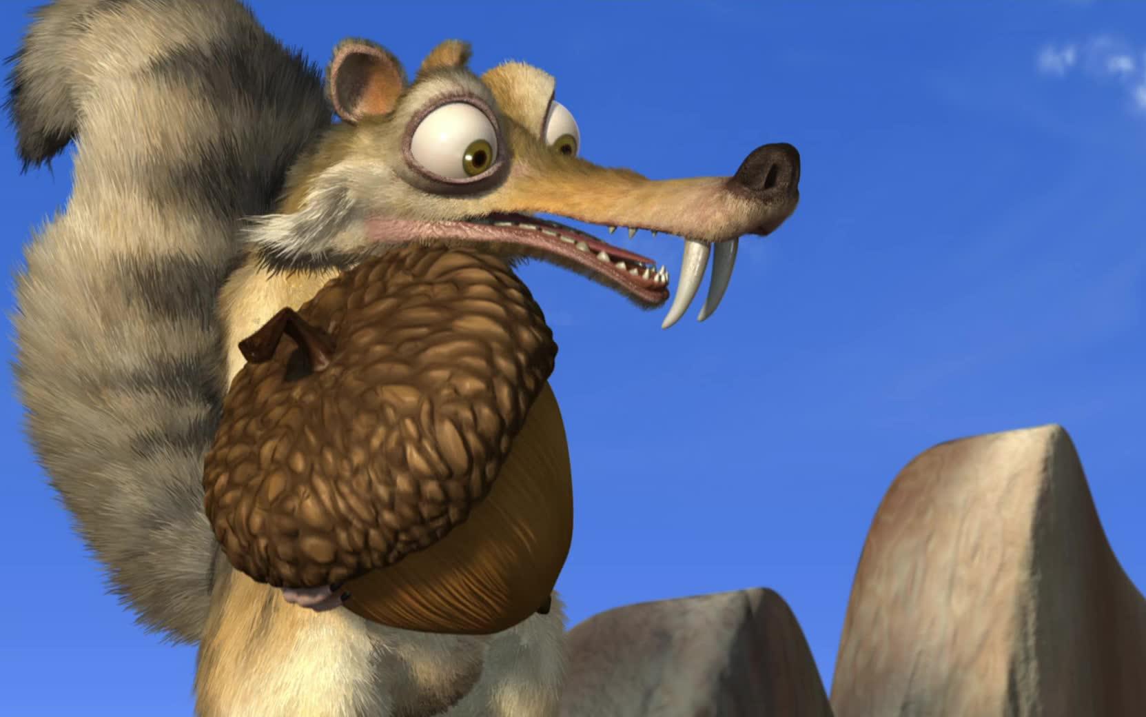 冰川时代 松鼠_【动画/1080P】消失的松果 Gone Nutty (2002)_哔哩哔哩 (゜-゜)つロ 干 ...