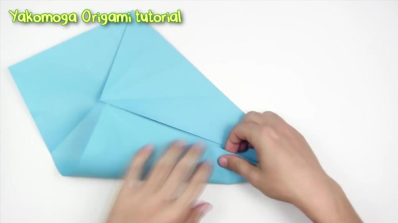锤头鲨折纸步骤_【YouTube--折纸】锤头鲨_哔哩哔哩 (゜-゜)つロ 干杯~-bilibili