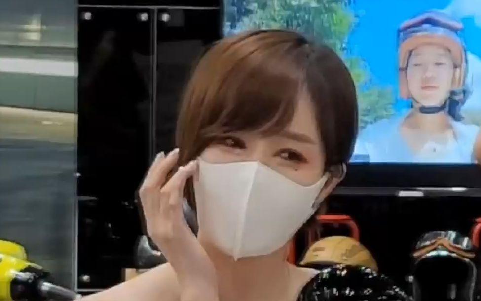 【2021首尔汽车沙龙1002】美女模特车模韩惠恩(4